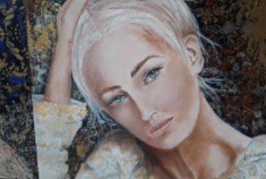 Montse Farrés Figuras Serie Dama Blanca_W